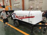 Da máquina concreta do Shotcrete do motor Diesel de Lovol 1004-4 bomba concreta pulverizada molhada e máquina concreta do pulverizador