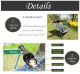 Churrasco para churrasco solar portátil com fácil montagem ao ar livre para venda (SO-01)
