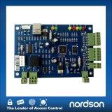 Una puerta de acceso Wiegand con panel de control El control de acceso RFID