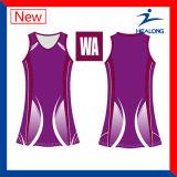 Het Toestel van het Netball van de Dames van de Sublimatie van de Sportkleding van de Fabrikant van China van Healong voor Verkoop