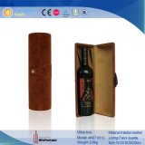 Porte-bouteille en cuir de 1 bouteille pratique avec boîte à épaule