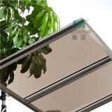 屋根ふきのための強く、耐久の特性が付いている在庫の軽い青銅色のポリカーボネートシート