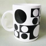 Promoção Criativa Planície Branco Porcelana caneca de café