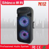 Altoparlante caldo professionale del carrello di karaoke di vendita di Shinco