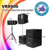 Riga passiva ed attiva sistema acustico di Vrx918 + di Vrx932 del DJ di schiera