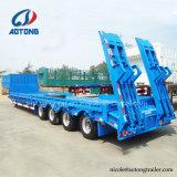Remorque de camion 2-3-4-5 50-120 tonnes d'essieu lit faible remorque de transport pour les ventes