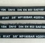 Draht-Flechten-Hochdruck-Schlauch LÄRM en-853 SAE100 R1/1sn eins