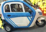 Carro elétrico do triciclo da roda da liga com a bateria 60V grande