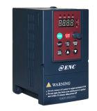 Entrada de información la monofásico 230V y mecanismos impulsores de velocidad variable trifásicos de salida 230V