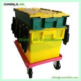 Autre couleur personnalisée contenant de plastique de nidification avec chariot