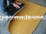 Деревянная циновка для гимнастики и других боевых искусств (KH001)