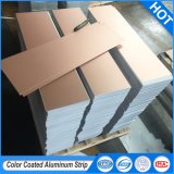 Цветные полосы из алюминия с покрытием для конкретной модели квадратные потолочные алюминиевых частей