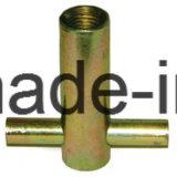 Douille de fixation de levage de béton préfabriqué ferrule avec Crosshole bout plat