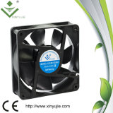 uso 12038 120mm elevado do ventilador de refrigeração da C.C. da corrente para a placa de painel com certificação de Saso
