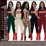 2018 Backless Romper pantalon sexy sans manches Plus Size Jumpsuit (TOSM5227)