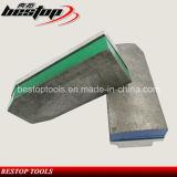 L135mm Trapezoïde Abraisve die Fickert voor de Schurende Hulpmiddelen van het Graniet malen