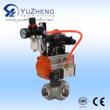 Actionneur pneumatique rotatif à double effet