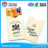 Manga de la tarjeta de crédito de la tarjeta del bloque del protector de la seguridad/de la seguridad