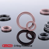 Rubber FPM Brown Standard X Ring voor Rotary Motion
