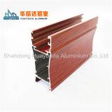 El perfil de aluminio sacó aluminio para la puerta del resbalador y la producción de la maneta de Windows