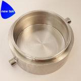 衛生三クランプ粉砕の大皿-ステンレス鋼