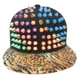 Bonés de beisebol do Snapback da forma com o couro artificial SD05