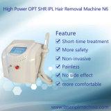 Remoção de pêlos IPL portátil e máquina de rejuvenescimento da pele (N6+A-Carina)