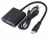 Mini-HDMI com VGA+Audio Output