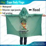 Cap britannique de drapeau imprimé par qualité de ventilateur de sports de polyester (M-NF07F02013)