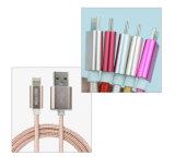 Factory Direct 2 en 1 câble de données Câble de données USB Multi Charger flexible pour Android et Ios Cell Phone
