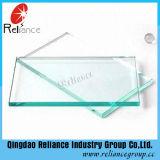 Verre flottant transparent de 3 à 19 mm avec CE, certificat ISO