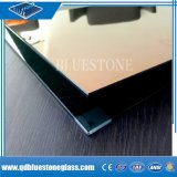 0.38mm/0.76mm 유백색 분홍색 파란 PVB 필름을%s 가진 건축 박판으로 만들어진 유리