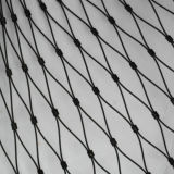 ステンレス鋼ワイヤーロープの網のネットかケーブルの網