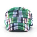 方法小切手パターン軍隊の帽子