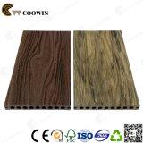Decking composito di plastica di legno decorativo dei materiali WPC (TS-04)
