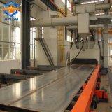 Macchina di granigliatura per il profilo d'acciaio