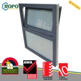 Inclinazione di vetratura doppia di UPVC e standard australiano della finestra di girata