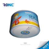Disco CD vuoto dello schermo di marchio a un solo strato di stampa con la scatola da pasticceria