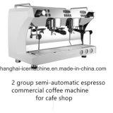 商業台所装置の半自動エスプレッソのコーヒーメーカー機械