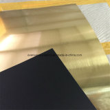 Strato di plastica dell'ABS dell'incisione di prezzi della materia prima di doppio colore