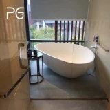 Bañera superficial sólida del cuarto de baño de la piedra exquisita del molde pequeña del baño de la paginación