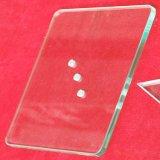 4mm bord poli traitées en verre trempé