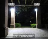 Más Populares de la luz del sensor de movimiento, todo en uno de pared lámparas solares para Jardín de Luz
