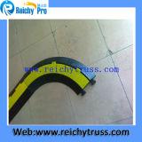 Materiale di gomma per l'angolo della rampa del cavo della protezione del cavo delle 3 Manica