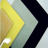 3,8 mm peint en noir de 4mm Miroir de verre
