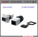 PCB Mounting Connector van Cnlinko RJ45 met Sealing Gasket