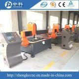 Máquina de corte CNC de chapa de aço com fonte de plasma