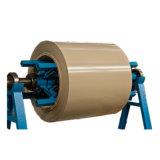 PE/PVDF Feuille en aluminium à revêtement de couleur dans la bobine