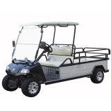 Sonnenkollektor-elektrische Fahrzeug-Ladung im Golfplatz (flaches Aluminiumbett)