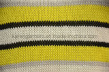 袖なしの編まれたしまのあるこんにちはLoヘムの女性の衣類